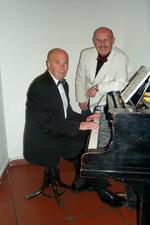 v.r.n.l. Manfred Hubl, Igor Jussim